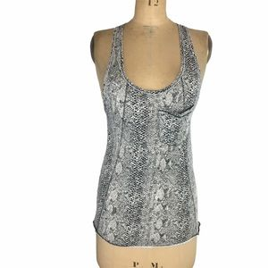 Wilfred Alligator Print Slouchy Tank